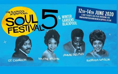 Once in a lifetime line-up for the 5th Blackpool International Soul Festival