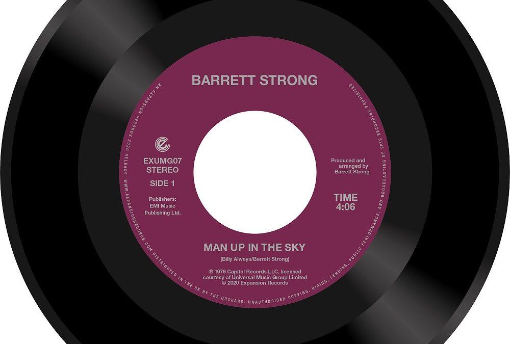 New music from Motown legend Barrett Strong
