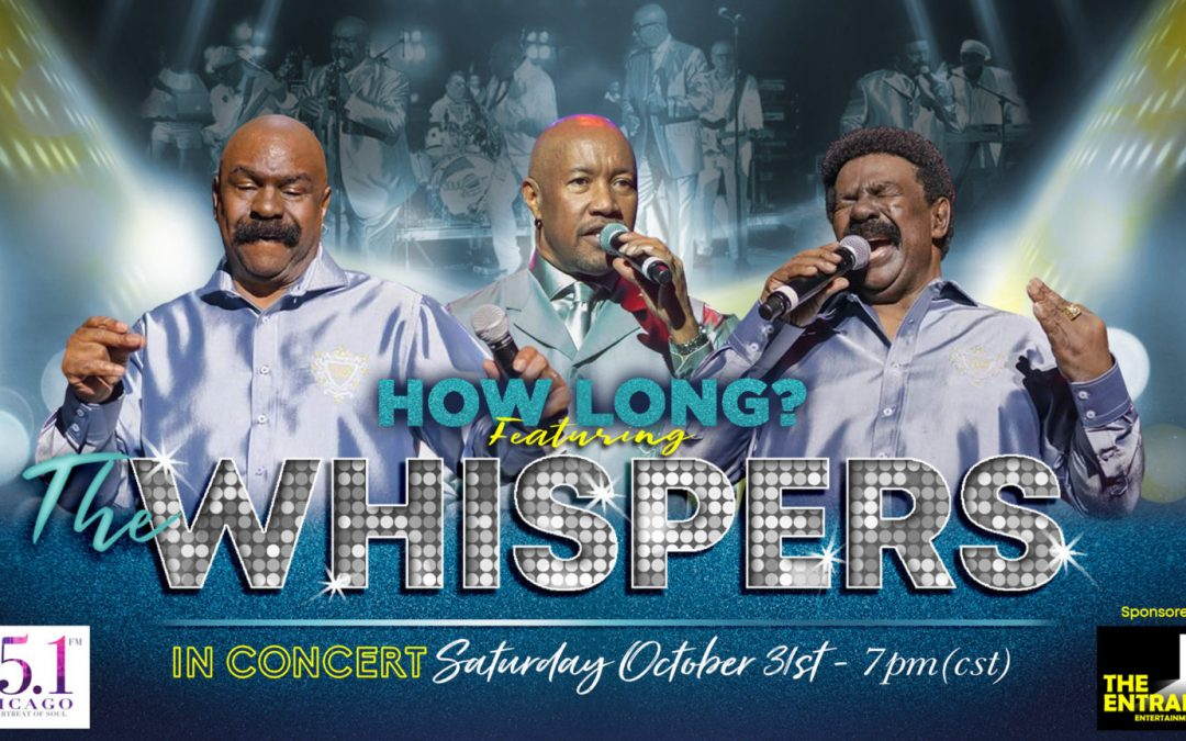 The Whispers are about to perform their first ever digital concert !